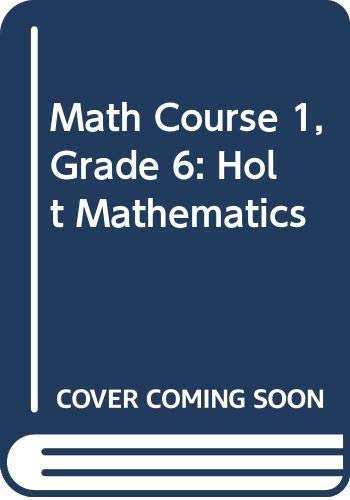 9780030357398: Holt Middle School Math: Student Edition CD-Rom (set of 25) Course 1 2004
