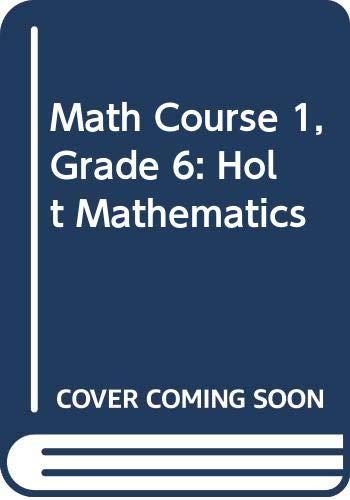 9780030357398: Holt Mathematics: Student Edition CD-Rom (set of 25) Course 1 2004