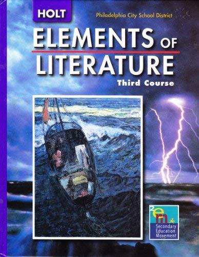Holt Elements of Literature Pennsylvania: Student Edition: HOLT, RINEHART AND