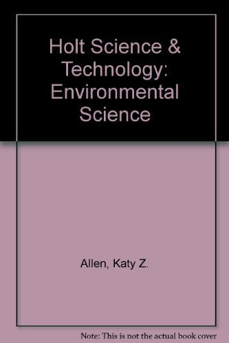 9780030359729: Holt Science & Technology: Environmental Science, Short Course E, Teacher's Edition