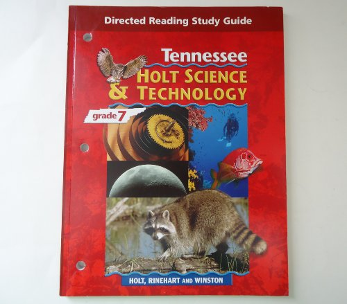 9780030360930: Directed Reading Study Guide: Holt Science & Technology, Grade 7