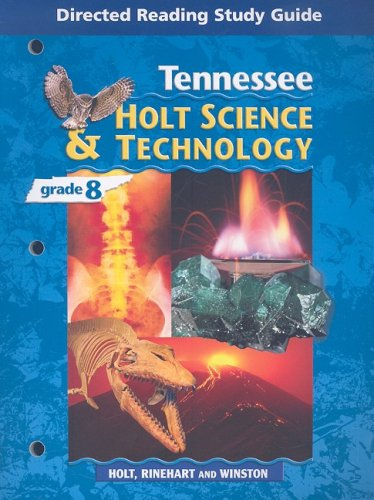 Tennessee Holt Science & Technology, Grade 8: