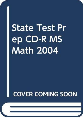 9780030360978: State Test Prep (Holt Math)