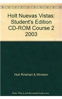 9780030361296: Holt Nuevas Vistas: Student's Edition CD-ROM Course 2 2003