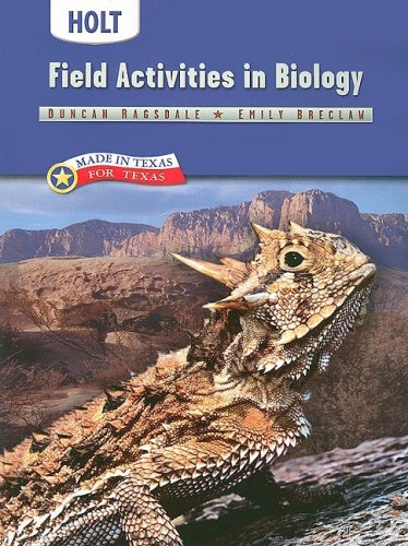9780030361975: Holt Biology Texas: Field Activities Grades 9-12