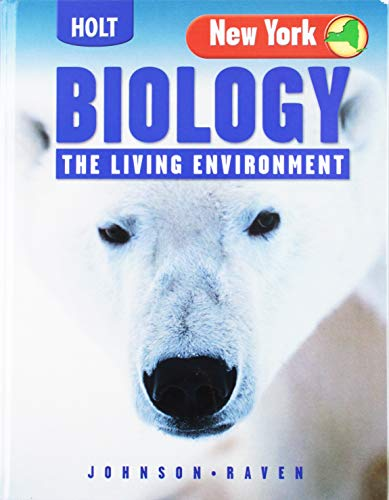 9780030362026: Holt Biology New York: The Living Environment, ìStudent Edition+ 2005