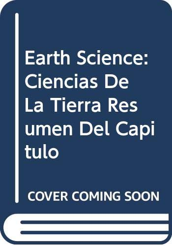 9780030363429: Holt Earth Science: Chapter Summaries Audio CD in Spanish