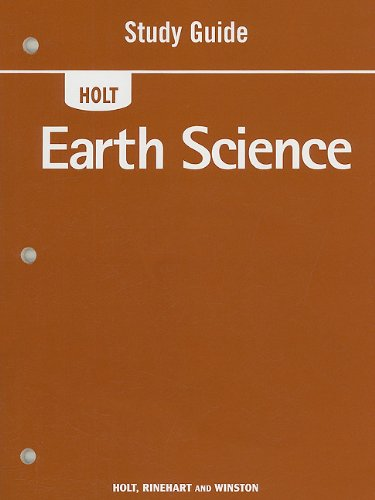 9780030363467: Study Guide (Holt Earth Science)