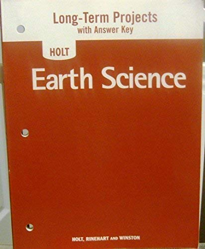 9780030363511: Long-Term Projects with Answer Key for Holt