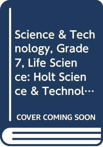 9780030364280: Holt Science & Technology Florida: Student Edition Cd-Rom Grades 7 Life Science 2006