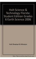 9780030364310: Holt Science & Technology Florida: Student Edition Grades 6 Earth Science 2006