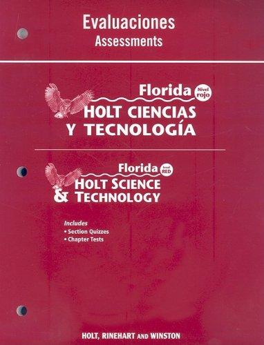 Florida Holt Ciencias y Tecnologia Evaluaciones/Florida Holt