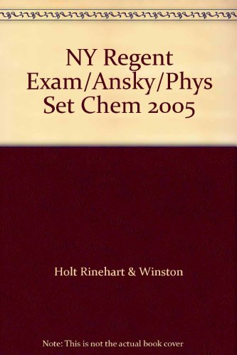 9780030366864: NY Regent Exam/Ansky/Phys Set Chem 2005