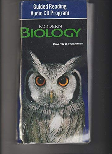 9780030367328: Modern Biology: Guided Reading Audio CD Program