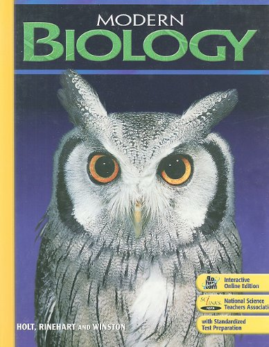 9780030367694: Modern Biology: Student Edition 2009