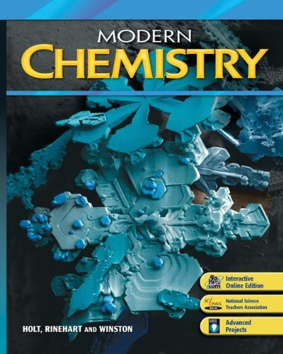 9780030367793: Modern Chemistry : Section Quizzes with Answer Key
