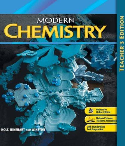 9780030367878: Modern Chemistry: Teacher's Edition 2009