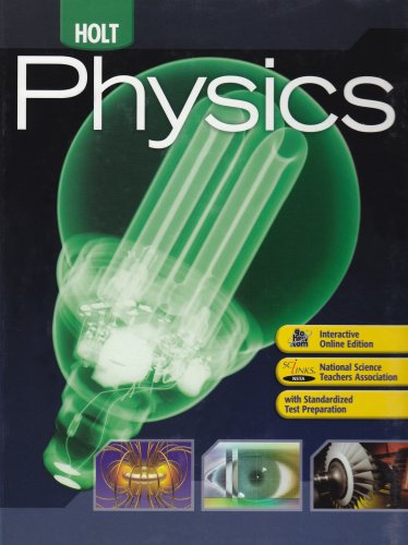 9780030368165: Holt Physics: Student Edition 2009