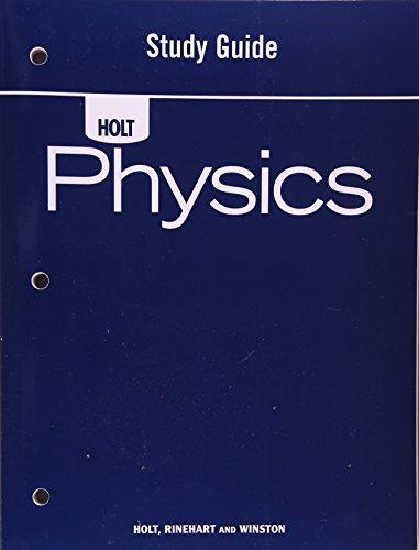 9780030368264: Holt Physics: Study Guide