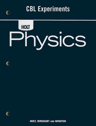 9780030368318: CBL Experiments (Holt Physics)