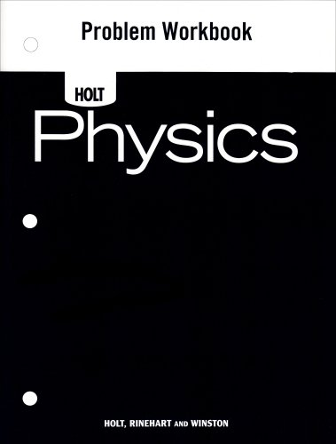 9780030368332: WORKBK-HOLT PHYSICS PROBLEM