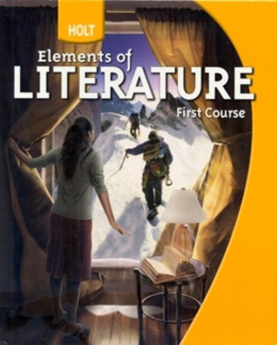 9780030368769: Holt Elements of Literature First Course