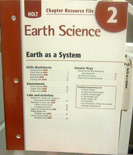 9780030368929: Cr #2 Earth/System Earth Sci 2006