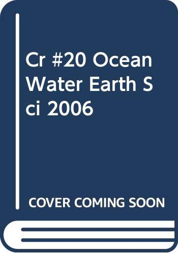9780030369148: Ocean Water (Holt Earth Science / Chapter Resource File, No. 20)