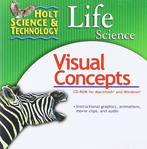 9780030369322: Holt Science & Technology: Life Science: Visual Concepts CD-ROM