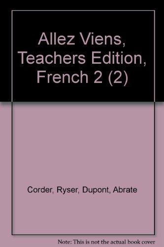 9780030369476: Allez Viens, Teachers Edition, French 2 (2)