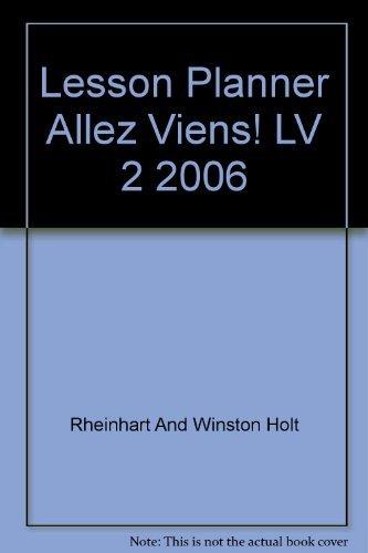 9780030369582: Lesson Planner Allez Viens! LV 2 2006