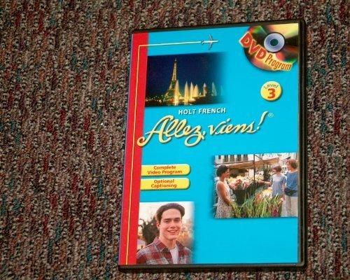 9780030369612: Holt French Allez Viens! Level 3 (DVD Program)