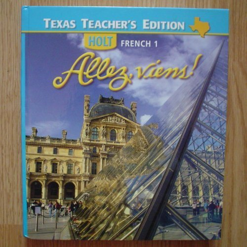 9780030369636: Holt French 1 - Allez viens! - Texas Teacher's Edition