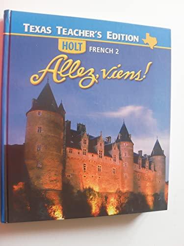 9780030369643: Allez, Viens! Holt French 2 - Texas Teacher's Edition