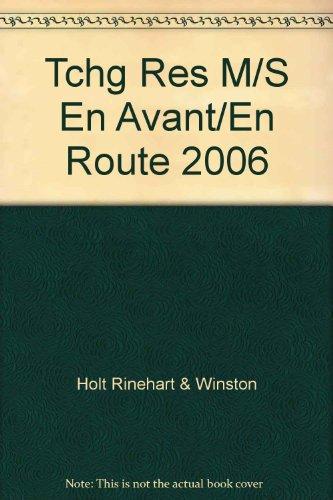 9780030369797: Tchg Res M/S En Avant/En Route 2006