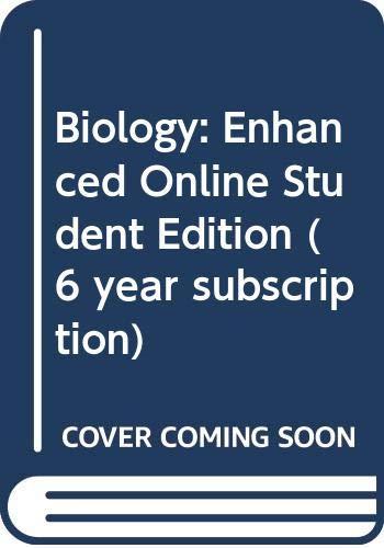 9780030370328: Holt Biology: Enchanced Online Student Edition CD 2004