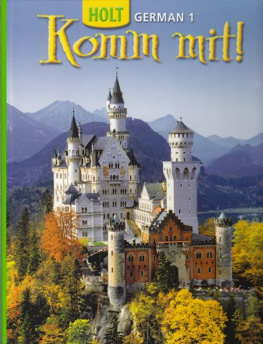 9780030372544: Komm mit!: Student Edition Level 1 2006