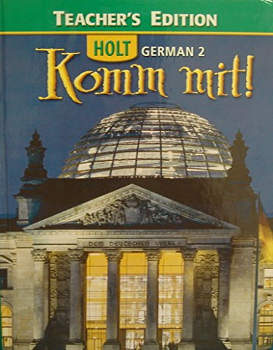 9780030372599: Holt German, No. 2: Komm Mit! Teacher's Edition