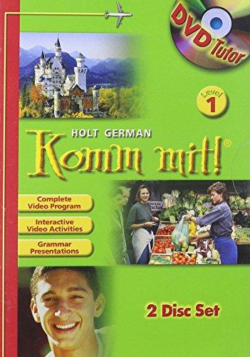 9780030372674: Komm mit!: DVD Tutor Level 1