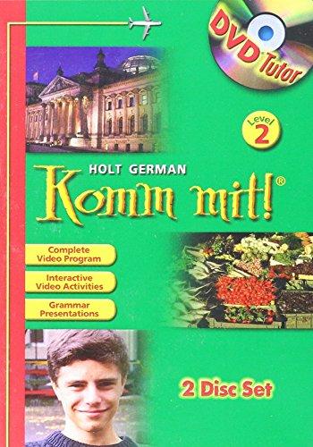 9780030372698: Komm mit!: DVD Tutor Level 2