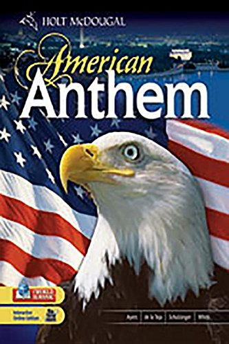 9780030373596: Holt American Anthem - Student Edition Audio Program Modern American History