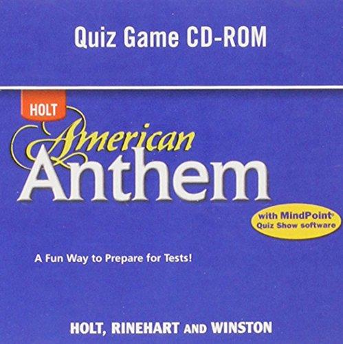9780030373824: American Anthem: Quiz Game CD-ROM