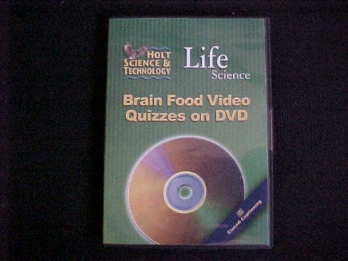 9780030374364: Brain Food Video Quizzes on DVD for Holt Life Science