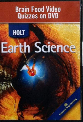 9780030374371: Holt Science & Technology: Earth Science: Brain Food Video Quizzes on DVD