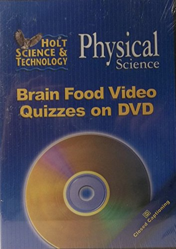 9780030374388: Brain Food Video Quizzes on DVD for Holt Physical Science