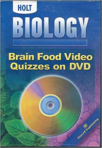 9780030374395: Brain Food Video Quizzes on DVD for Holt Biology