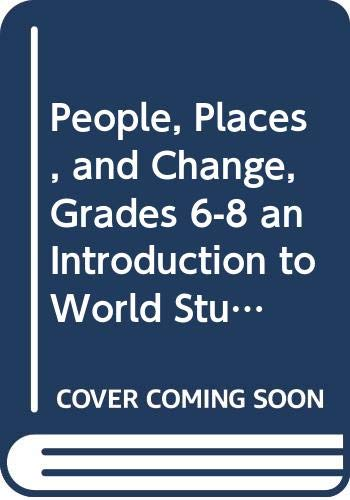 9780030374869: Holt People, Places, and Change: An Introduction to World Studies: Daily Lecture Notes Grades 6-8