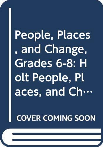 9780030374920: Holt People, Places, and Change: An Introduction to World Studies Florida: Student Edition CD-ROM Grades 6-8 2005