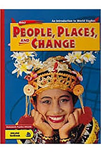 9780030375736: Holt People, Places, and Change: An Intro to World Studies: Eastern Hemisphere: Student Edition 2005