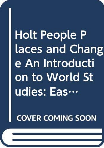 9780030375774: Holt People, Places and Change, An Introduction to World Studies: Eastern Hemisphere (Annotated Teacher's Edition)